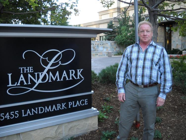 Skip Weller, Landmark condo owner, said a recent ruling will save him thousands in property taxes.