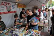 Hundreds of authors will converge on Mount Vernon for the Baltimore Book Festival Sept. 27-29. The annual festival features book readings, signings, workshops and discussions, in addition to live music, food, beer and wine