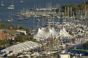 The United States Sailboat Show draws 50,000 boat enthusiasts to Annapolis annually. The 44th annual event will be held Oct. 10-14, featuring what it touts as the largest collection of multi-hull sailboats in the world, seminars by Cruising World and Chesapeake Bay magazines, and interactive workshops.