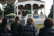 Historic Fort Vancouver is a perfect setting for the Naturalization ceremony that took place Sept. 20, 2013