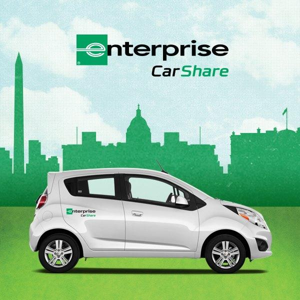 Enterprise Rent-A-Car is sending a car-sharing fleet to the Twin Cities.