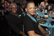 (From left) Shawnee Daniels Sykes of the Sisters of Notre Dame and Paula Pennebaker of the YWCA