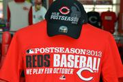 The Reds also have a 2013 Authentic Collection Team Playoff T-Shirt.