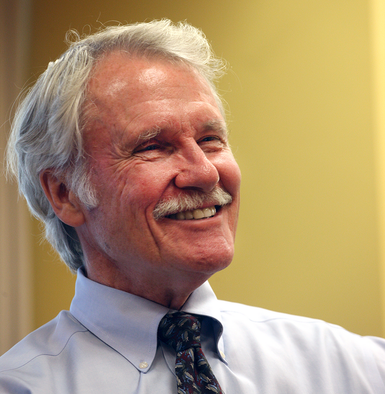Gov. John Kitzhaber discusses one of his favorite subjects – health care.