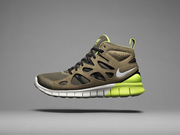 Combine a barefoot-running sole and a winter boot and the result is the Nike Free Run 2 SneakerBoot.