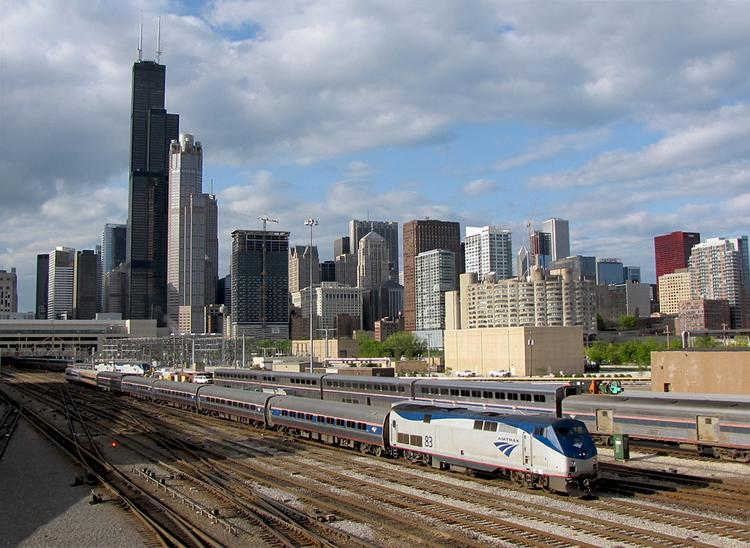 Amtrak use is growing in cities like Chicago, but Ohio has been slow to accept the rail service.