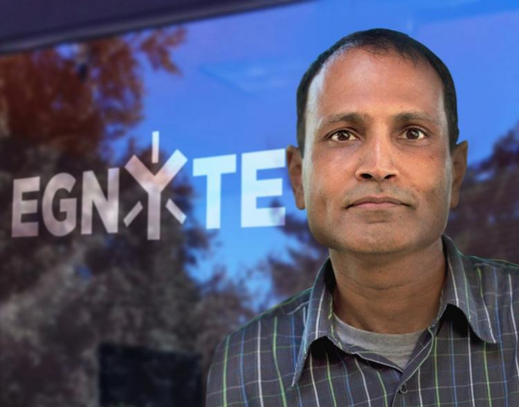 File-sharing company Egnyte, led by CEO Vineet Jain, has a new logo and is relaunching with new products and a $25 million fundraising effort.