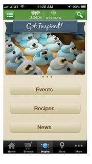 Lunds & Byerly's app shares special deals, creates shopping lists, offers recipes, provides product and store information. Available for: iPhone, iPod touch, iPad and Android users