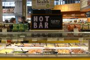 The downtown Minneapolis Whole Foods store has hot, prepared food.