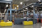 Employees work inside of Pepsi Bottling Ventures' Winston-Salem facility in the Union Cross Business Park. The company distributes about 750 different beverage products from Winston-Salem to locations up and down the East Coast.