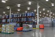Numerous pallets of beverages inside of Pepsi Bottling Ventures' massive facility in the Union Cross Business Park are waiting to be shipped to retail outlets up and down the East Coast. The 526,000-square-foot facility has been recently upfitted with millions of dollars worth of high-tech equipment.