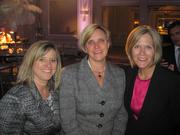 From left, Kristen Pleasants of Basis Points Advisors, Joan Renner of The Brick Cos. and Jill Holman of Javelin Point Investors.