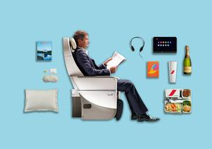 The Air France premium economy cabin is getting seats with a new multi-position footrest, as well as a new entertainment system.