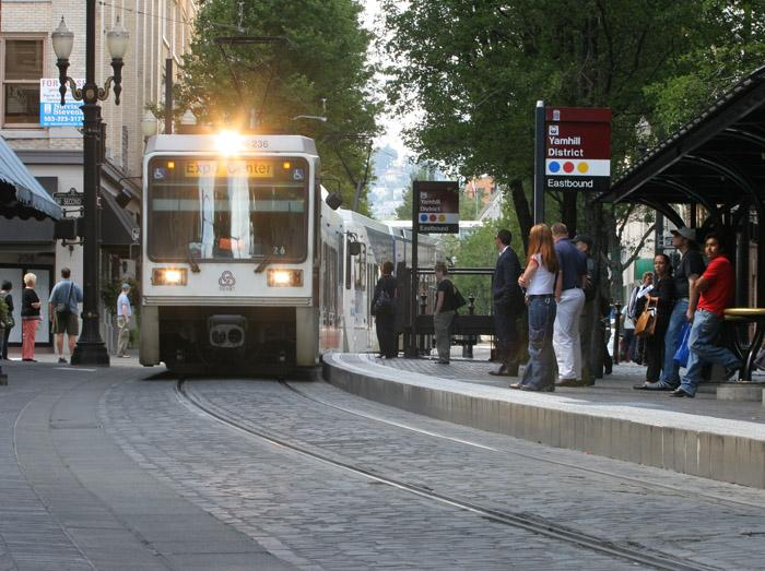 Portland's light rail system has been very good for Portland hotels.