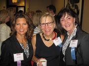 From left, Diane Tipton of Self Storage Zone, Anne McCulloch of Fannie Mae and Cary Hatch of MDB Communications.