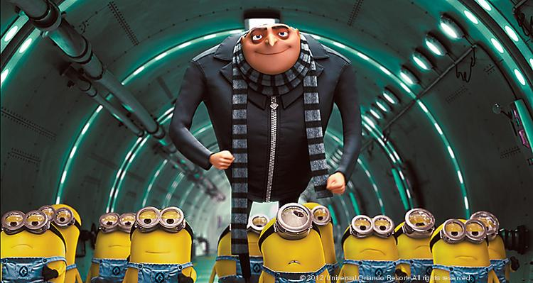 Despicable Me 2 took in $34.3 million in ticket sales on its July 3 opening.
