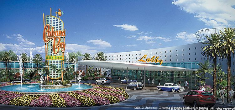 The Cabana Bay Beach Resort is set to open at Universal Orlando Resort in early 2014.