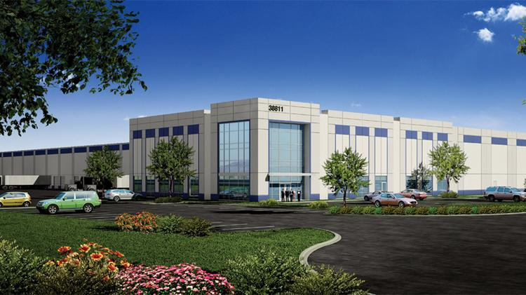 Amazon is leasing the 574,000-square-foot Cherry Logistics Center in Newark.