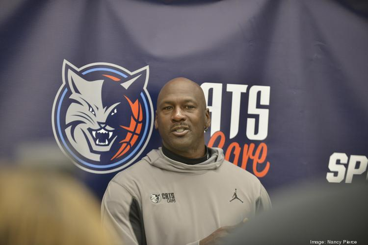 Michael Jordan, owner of the Charlotte Bobcats, tied the knot over the weekend in Palm Beach, Fla.