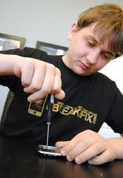 Justin Wetherill's uBreakiFix had $17 million in revenue in 2012. uBreakiFix was ranked No. 4 on the Florida Fast 100.