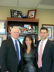 Independent Financial Partners CEO William Hamm, HR Director Karen Hamm and Executive VP of Business Development Chris Hamm. IFP was ranked No. 10 on the Florida Fast 100.