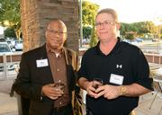 Hershel Head and Paul Ribble at the After Hours event.
