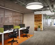 NoackLittle Architecture and Interiors incorporated a variety of materials — wood, fiber and metals —to create visual interest in the Tableau Software offices.