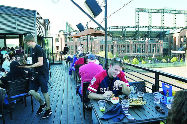 ViewHouse opened in March, and has proved to be a big draw for Rockies fans.