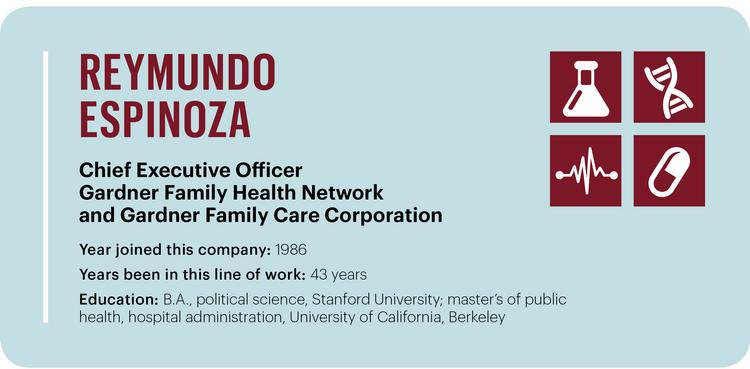 Reymundo Espinoza of Gardner Family Health Network and