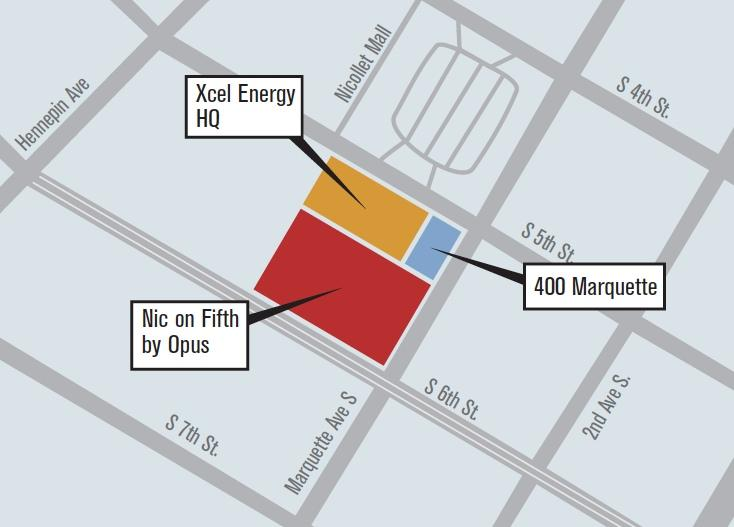 A map of the 4 Marq project, and its future neighbors