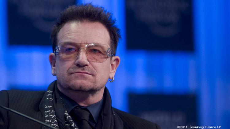 Bono, lead singer for the band U2, has partnered with Charlotte-based Bank of America to raise money for his nonprofit, (RED).