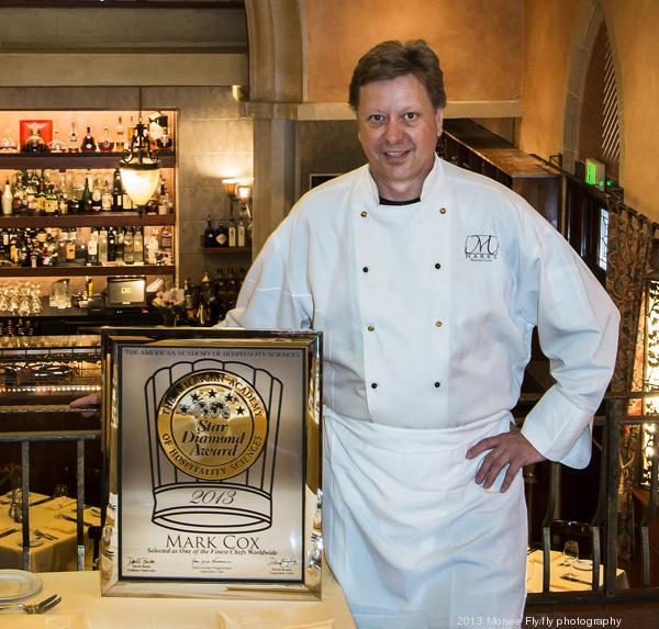 Mark Cox, co-owner and executive chef, Mark's American Cuisine  Click through the slideshow for images of the dining room and the food at Mark's.