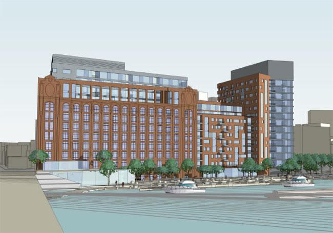 Lovejoy Wharf parking would have cost developer  8M to  16M - Boston ... 55be196a6