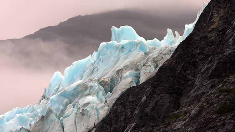 Pictured: Shoupe Glacier in Alaska. The team behind the Alaska LNG project has submitted an application to the U.S. Department of Energy for exporting liquefied natural gas.