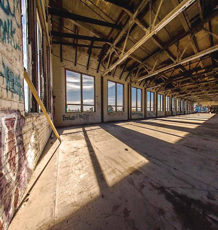 The lofts are on the site of a former GE light bulb factory that will be restored.