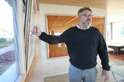 Sam Hagerman, owner of Hammer & Hand, explains how the European tilt-turn triple glazed windows in Eric Lemelson's Karuna House provide a very high performance. Thanks to the style of windows, the home is very air-tight.
