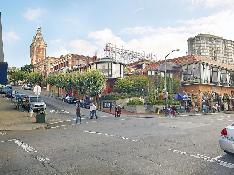 Jamestown Properties bought Ghirardelli Square for $56 million and will invest $15 million in a revamp.
