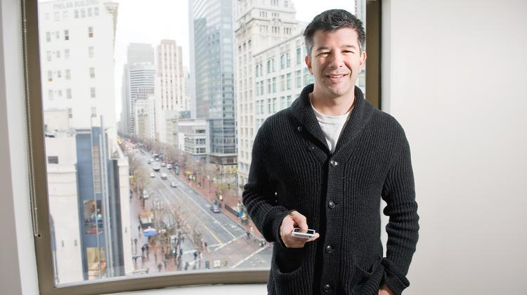 Uber is led by CEO Travis Kalanick.