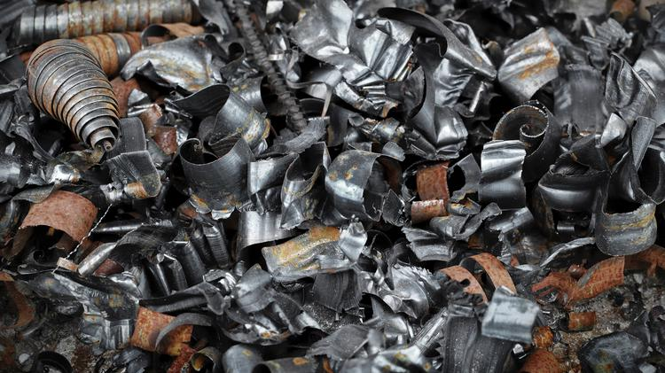 Newell Recycling processes junk cars, batteries and machinery in addition to steel, copper, aluminum, brass and other metals.