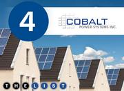 No. 4: Cobalt Power Systems Inc. All figures are for systems installed in Silicon Valley in 2012 Cost of systems installed: $4.58 million Incentives approved for customers: $189,493 Number of projects: 91