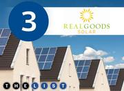 No. 3: Real Goods Solar Inc. All figures are for systems installed in Silicon Valley in 2012 Cost of systems installed: $6.87 million Incentives approved for customers: $1.35 million Number of projects: 150