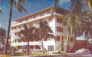 The Islander Hotel was the Kelleys' first hotel. It opened in 1947.
