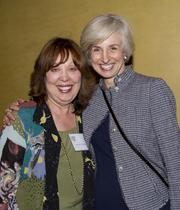 California Women Lawyers Immediate Past President Patricia Sturdevant and United States District Judge Kimberly Mueller pose at the annual Asian/Pacific Bar Association of Sacramento awards dinner.