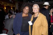 Tina Roberts and Los Rios Community College District Trustee Pamela Haynes pose at the annual Asian/Pacific Bar Association of Sacramento awards dinner.
