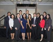 ABAS Officers and Board Members pose with United States District Judge Anthony W. Ishii at the annual Asian/Pacific Bar Association of Sacramento awards dinner.
