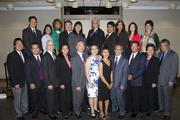 ABAS Past Presidents pose at the annual Asian/Pacific Bar Association of Sacramento awards dinner.