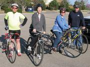 Among the many activities the city of Derby promotes through its wellness program are bike rides. Groups of city employees get together once a month for group rides.