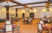 This dining area in an assisted living wing of the facility has been upgraded and outfitted with more modern decor and is one of several recent renovation projects that are included in a $22 million renovation and expansion.