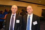 From Washington Gas, Jim Ramsey, left, and Steve Laurine at the 2013 Minority Business Leader Awards.