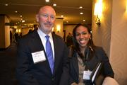 From PNC, Michael Shuptar and Celandra Deane-Bess at the 2013 Minority Business Leader Awards.